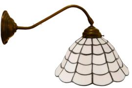5935 410 Wandlamp met Tiffany kap Ø25cm Art Deco Paris