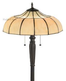 5982 Vloerlamp H160cm met Tiffany kap Ø46cm Korset