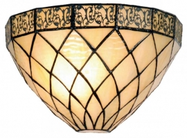 1138 Wandlamp Tiffany schelpmodel Filigrees