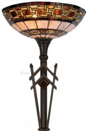 5604 5763 Vloerlamp H170cm met Tiffany kap Ø40cm  Stratford