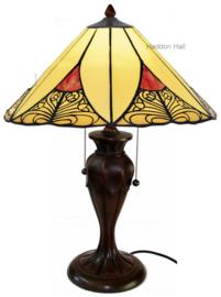 KT32 Tafellamp Tiffany H58cm Ø40cm Sunset