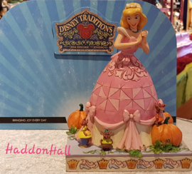 Cinderella & Mice  -Darling Dreamer   H20,5cm Event Piece Pink Dress - Roze Jurk