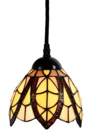 8119 Hanglamp met Tiffany kap Ø15cm Flow Souplesse