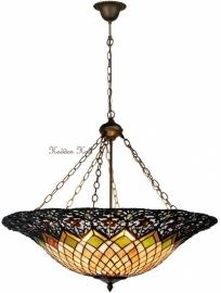 5728  Hanglamp Tiffany Ø80cm Medieval