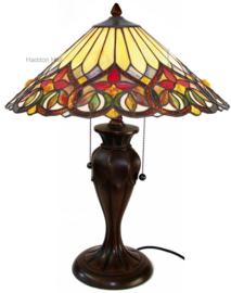 COT07 Tafellamp Tiffany H58cm Ø42cm Sydän