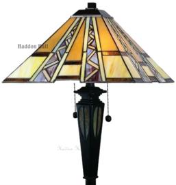 T4 FB20 Vloerlamp H154cm met Tiffany kap 40x40cm Serpentines