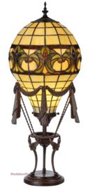 KT19 Tafellamp Tiffany H70cm Ø27cm Luchtballon Monteglin