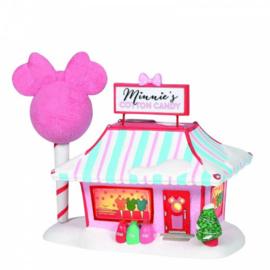 Minnie's Cotton Candy Shop H19cm Village by D56 A30317