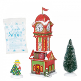 Christmas Countdown Tower H22,5cm VIllage by D56 A30313