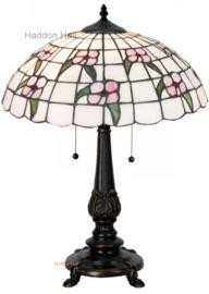 5191 Tafellamp Tiffany H55cm met Tiffany Kap Ø41cm Primula