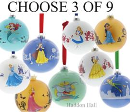 Disney Kerstballen Ø10cm - Kies 3 van de 8 - Enchanting Disney
