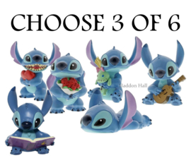 Stitch Hugs - Kies 3 van 6 figurines - Disney Showcase