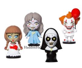 Horror - Set van 4 Warners Bros. Figurines H10cm