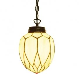 5771 Hanglamp Tiffany met ketting Ø20cm Lelie
