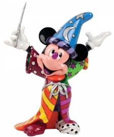 "Mickey Mouse ""Sorcerer"" H 23cm Disney by Britto 4030815 Retired"