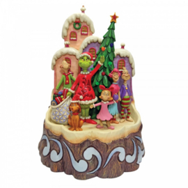 Grinch - Carved by Heart - Jim Shore 6008890 NIEUW.