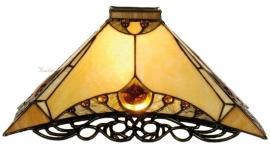 5313 Kap Tiffany 35x35cm  Amber