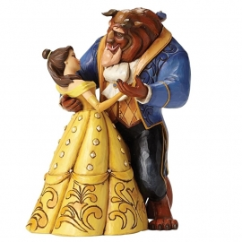 "BELLE & BEAST ""Moonlight Waltz"" H 23cm Jim Shore  4049619"