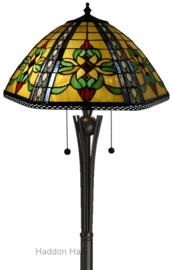 DT19288 TG08FB Vloerlamp Tiffany H158cm Ø46cm Sambreel