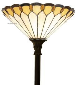 5989 FL395 Vloerlamp H172 met Tiffany kap Ø40cm Klasika