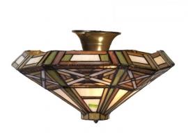 Art DecoTiffany plafonniere 5417