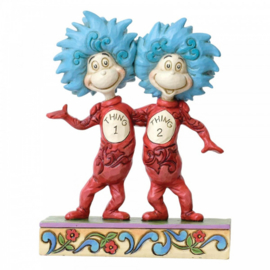 Thing 1 and Thing 2   H13cm Dr. Seuss by Jim Shore 6002908