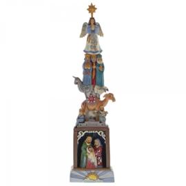Foundation of His Love 36cm Jim Shore kerstgroep  Nativity 4060309  kerststal