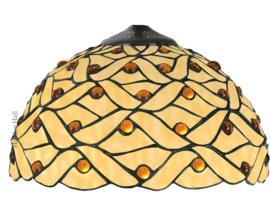 5181 Kap Tiffany Ø30cm Woven Pearl