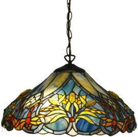 5678 Hanglamp Tiffany Ø40cm Guldsmed