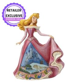 """Aurora """"Once Upon a Kingdom""""  16cm Jim Shore 4045242 Castle Dress Serie ."""