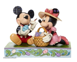 Mickey & Minnie - Easter Artistry  H11,5cm Jim Shore 6008319