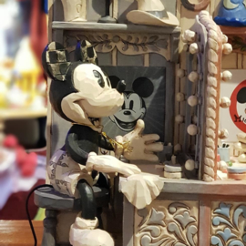 Mickey  90th  GESIGNEERD H21cm Jim Shore 6001267 Disney Traditions retired.