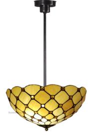 LT16668 7916 Hanglamp Tiffany Ø40cm Golden Pearl