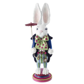 Alice - White Rabbit Nutcracker H42cm - Christmas Inspirations
