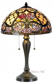 9963 Tafellamp Tiffany H58cm Ø40cm Grandiflora