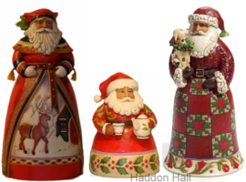 Set van 3 Kerstmannen Faithful Friends, Cup of Christmas, Old-Fashioned  uit 2011