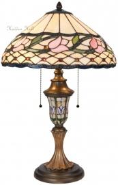 5774 Tafellamp Tiffany H60cm Ø40cm Flora