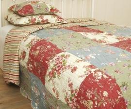 Q001 Clayre & Eef Bedsprei 230 x 260 cm Quilt Patchwork