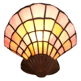 6000 Tiffany lamp H25cm Schelp