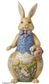 Bunny with Easter Basket H24cm Jim Shore 6008408