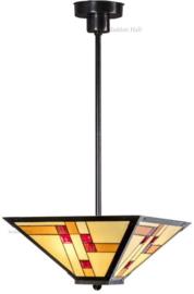 KT40 7916 Hanglamp Tiffany Ø40cm Quadratum