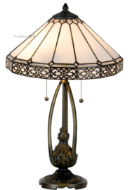 5211 Tafellamp Tiffany H60cm Ø41cm Boleyn