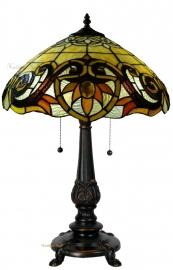 5777 5768 Tafellamp Tiffany H60cm Ø42cm Pendragon