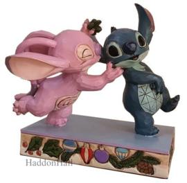 Stitch - Angel Kissing Stitch - Jim Shore 6008980
