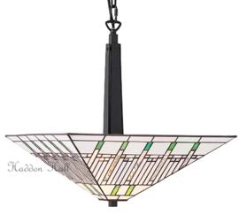 68750 FL1 Hanglamp Tiffany 40x40cm Mission