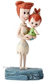 "WILMA & PEBBLES ""Beautiful Bond"" H14cm Jim Shore 4051594"