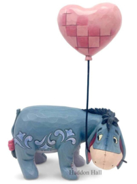 Eeyore with Heart Balloon H20cm Jim Shore 6005965