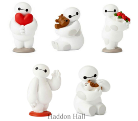 Big Hero Baymax Set van 5 Beeldjes H8cm Disney Showcase