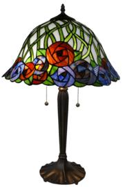 KT162152 Tafellamp Tiffany H60cm Ø41cm Diana