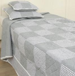 Q092 Clayre & Eef Bedsprei 260 x 260 cm Quilt Patchwork